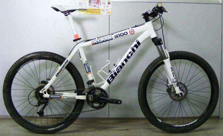 Cicli Montanini Bici Complete Mtb Front Alluminio Bianchi Kuma