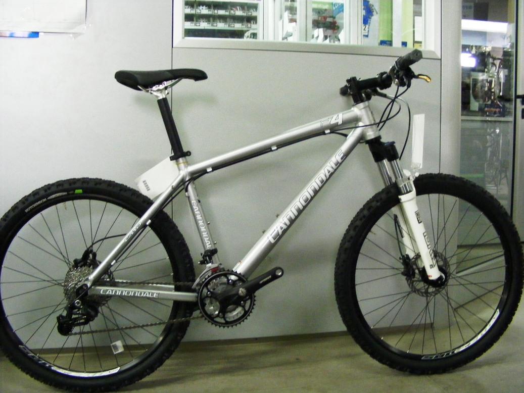 Cicli Montanini Bici Complete Mtb Front Alluminio Cannondale F4