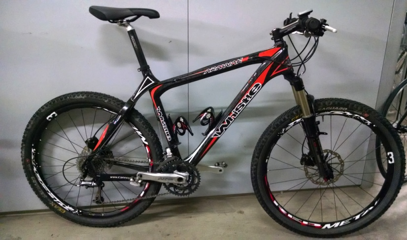Cicli Montanini Bici Complete Mtb 26er Front Carbonio Whistle