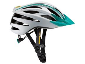 INGRANDISCI [MAVIC CASCO CROSSRIDE SL ELITE WOMAN WHITE/MOOREA BLUE]